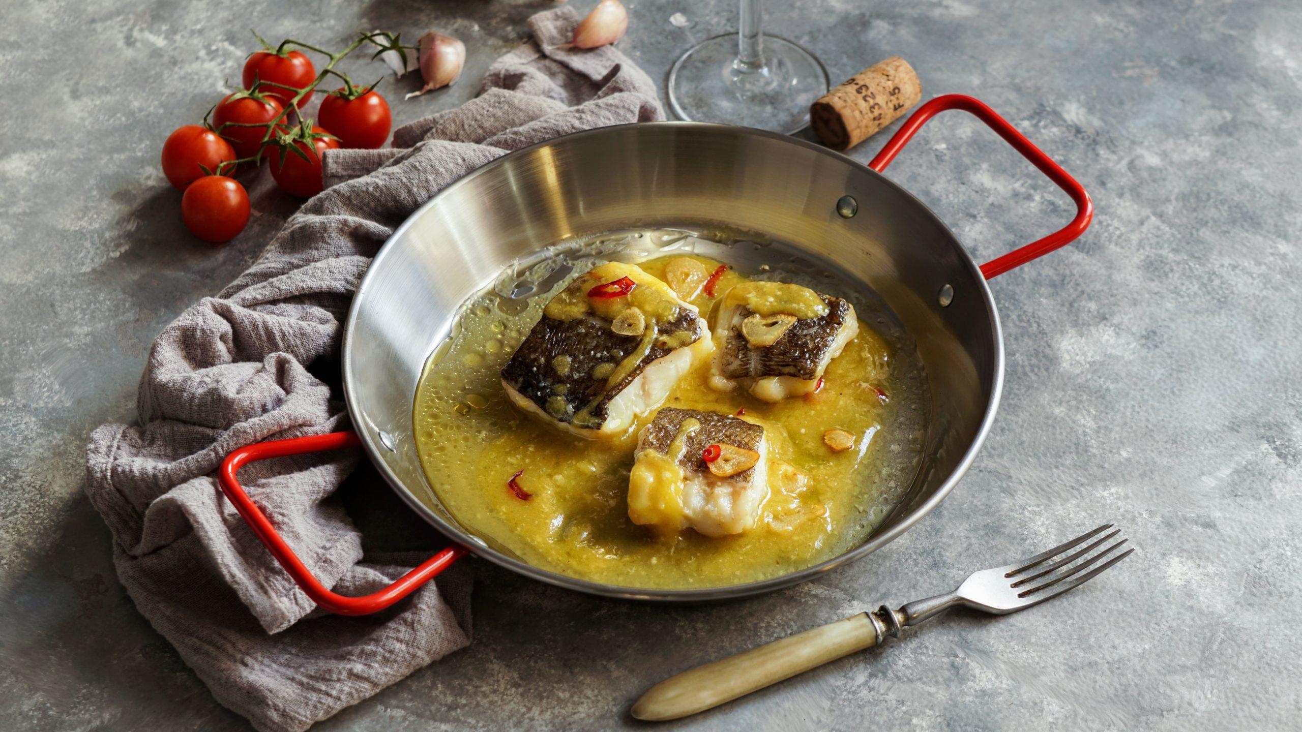 recetas de bacalao - bacalao al pil pil